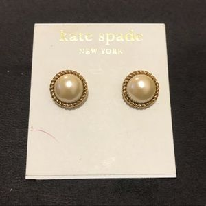 NWT! Kate Spade Pearl Earrings